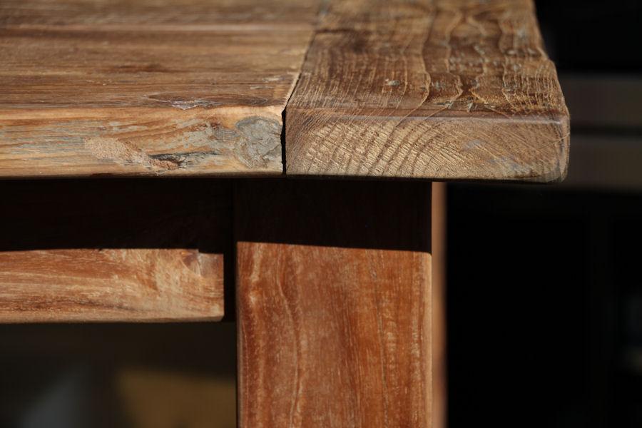 Wooden Affairs | Detailansicht | Tische aus altem Holz – Santoso mit ...