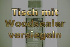 Holztisch Versiegeln wooden affairs detailansicht zubehör service tisch